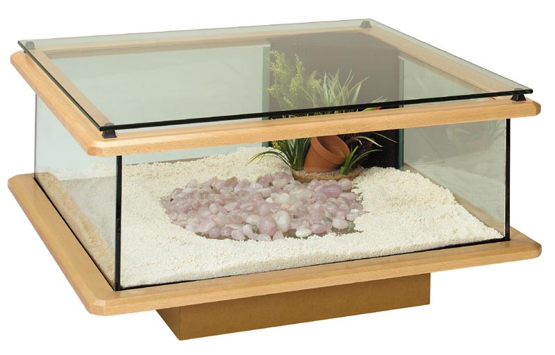 Traviata - Table basse aquarium design ...